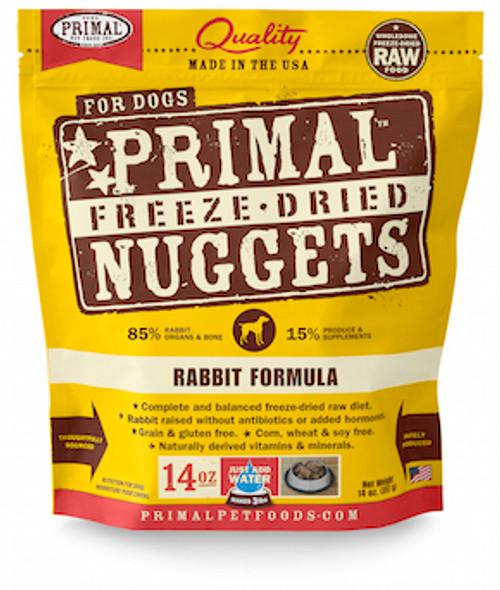 Primal Dog Freeze-Dried Rabbit
