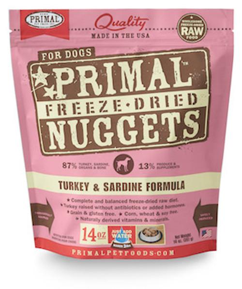 Primal Dog Freeze-Dried Turkey & Sardine