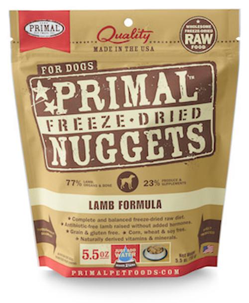 Primal Dog Freeze-Dried Lamb