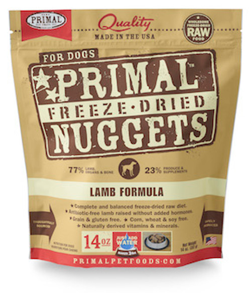 Primal Dog Freeze-Dried Lamb