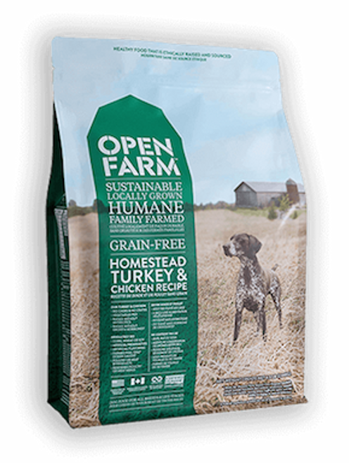 Open Farm Dog Grain-Free Homestead Turkey & Chicken