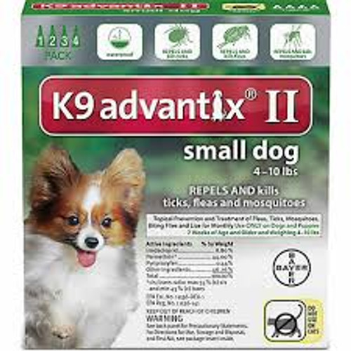 K9 Advantix II 4 Month