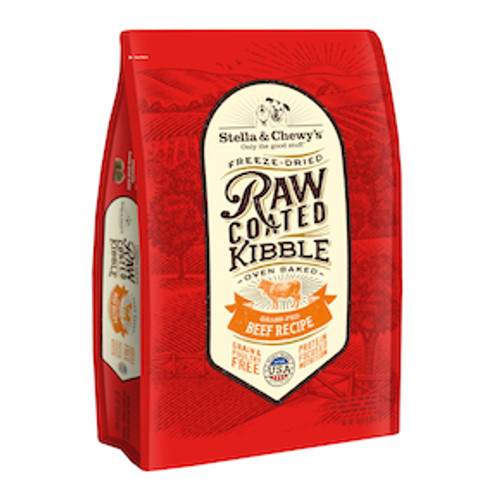 Stella & Chewy's Dog Raw Coated Kibble Beef