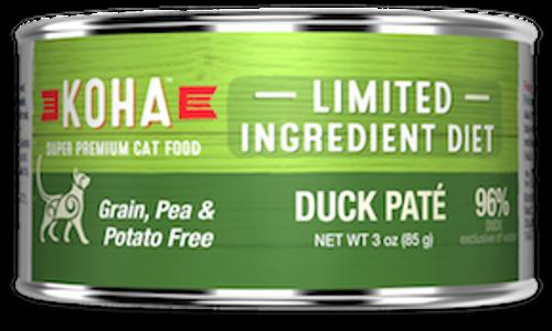 Koha Cat Grain Free Duck LID Pate