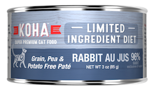 Koha Cat Grain Free Rabbit LID Pate