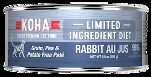 Koha Cat Grain Free Rabbit LID Pate