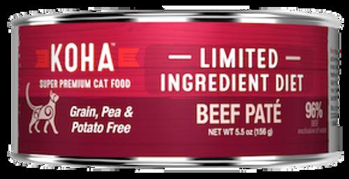 Koha Cat Grain Free Beef LID Pate