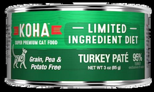 Koha Cat Grain Free Turkey LID Pate