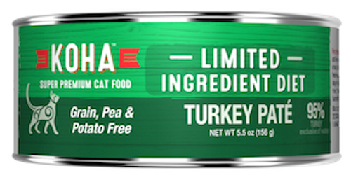 Koha Cat Grain Free Turkey LID Pate