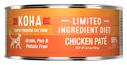 Koha Cat Grain Free Chicken LID Pate