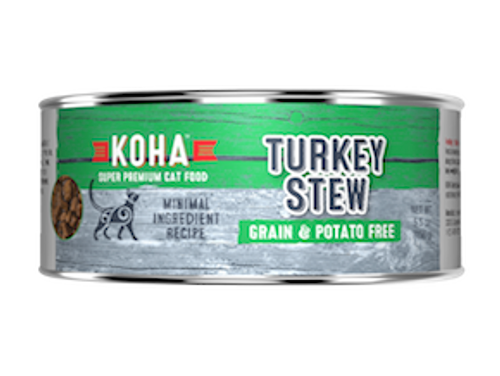 Koha Cat Minimal Ingredient Turkey Stew 5.5oz