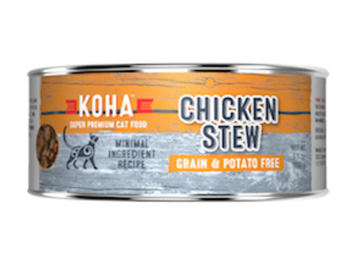 Koha Cat Minimal Ingredient Chicken Stew 5.5oz