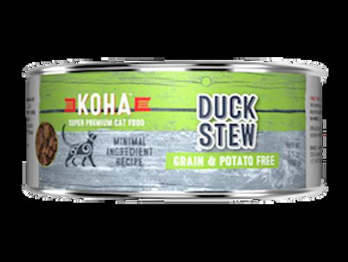 Koha Cat Minimal Ingredient Duck Stew 5.5oz