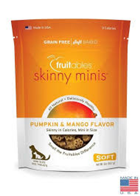 Fruitables Skinny Minis Chewy Pumpkin & Mango Treat 5oz