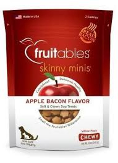 Fruitables Skinny Minis Chewy Apple & Bacon 12oz