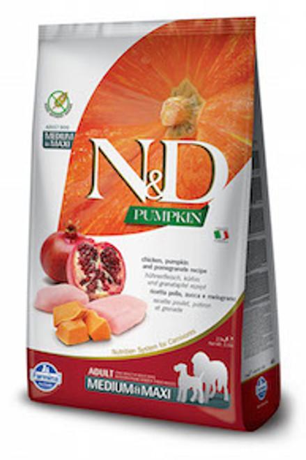Farmina Dog Pumpkin GF Chicken & Pomegranate Med/Maxi