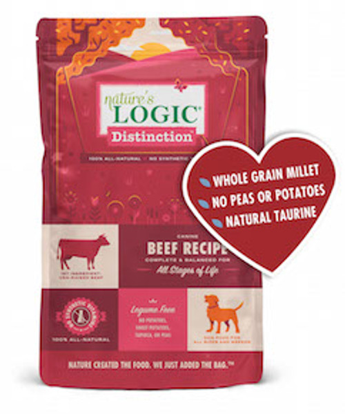 Nature's Logic Dog  Distinction Beef