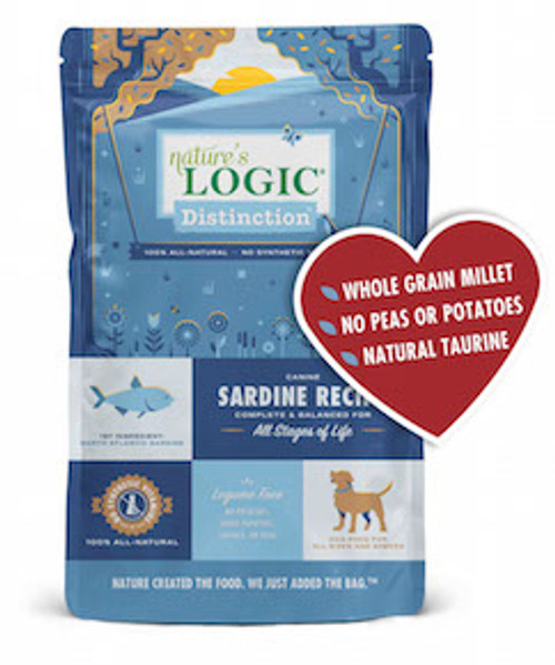 Nature's Logic Dog Distinction Sardine