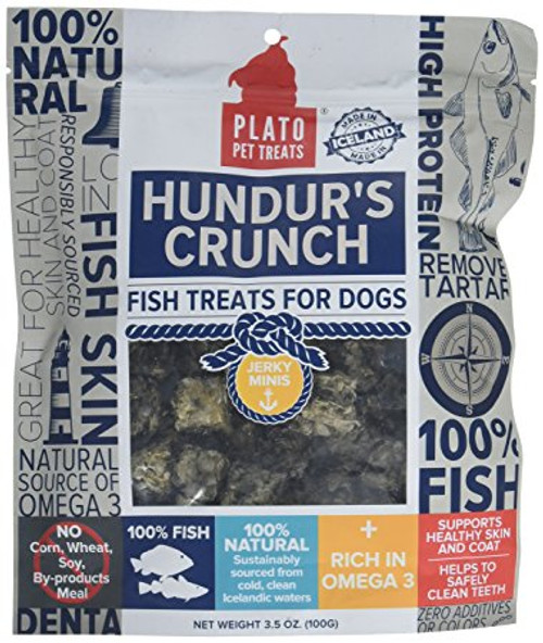 Plato Hundur's Crunch Fish Mini's 3.5oz