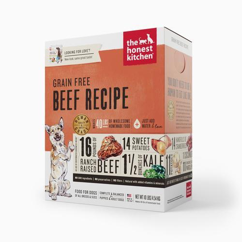 Honest Kitchen GF Beef 10lbs