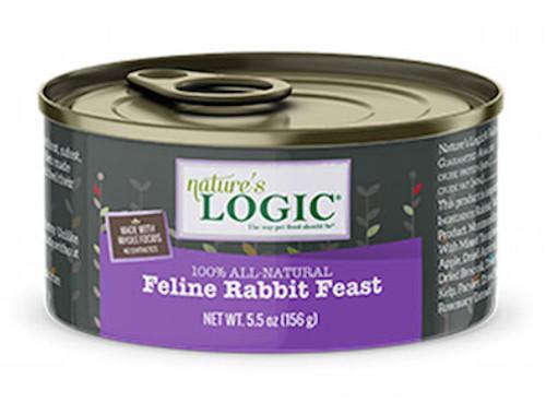 Nature's Logic Cat Rabbit 5.5oz