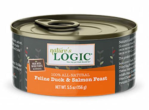 Nature's Logic Cat Duck & Salmon 5.5oz