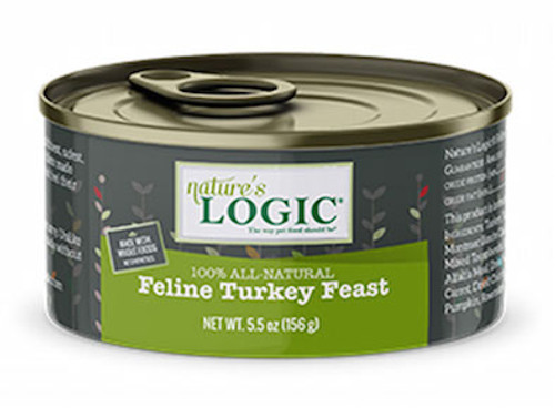 Nature's Logic Cat Turkey Feast 5.5oz