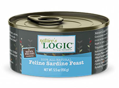 Nature's Logic Cat Sardine Feast 5.5oz