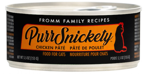 Fromm  PurrSnickety Chicken Pate 5.5oz