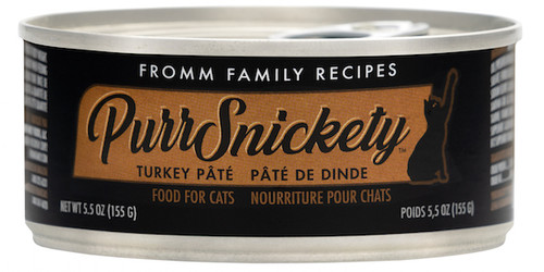 Fromm  PurrSnickety Turkey Pate 5.5oz