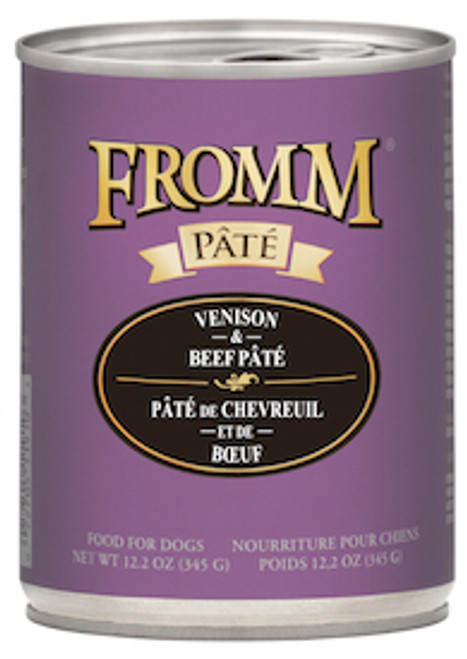 Fromm Gold Venison & Beef Pate 12.2oz