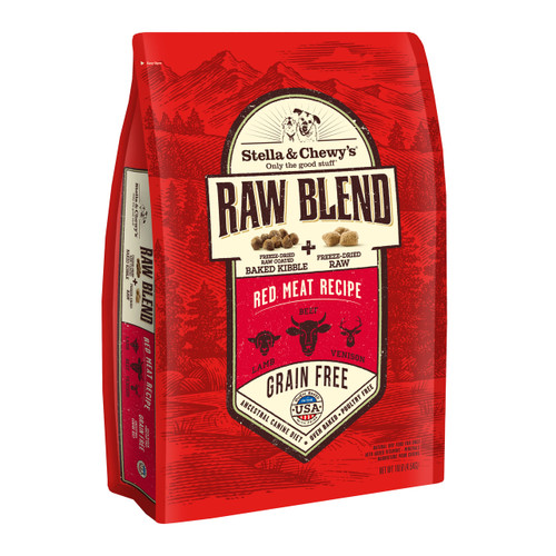 Stella & Chewy's Raw Blend - Red Meat Recipe - 10lb