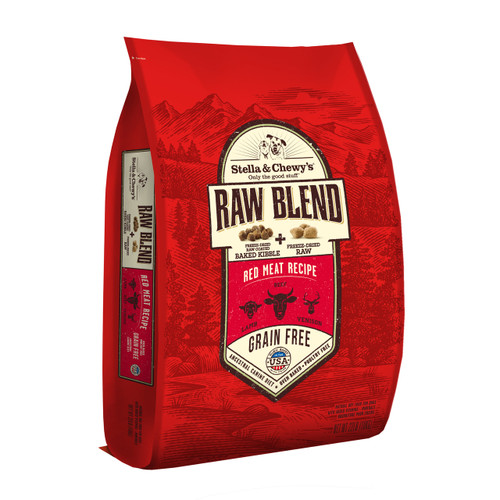 Stella & Chewy's Raw Blend - Red Meat Recipe - 22lb
