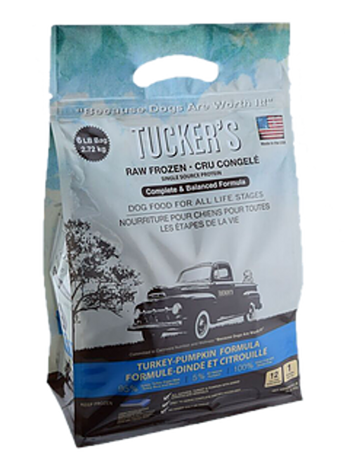 Tucker's Frozen Turkey & Pumpkin 6lb