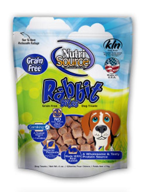 NutriSource Grain Free Rabbit Treat 6oz