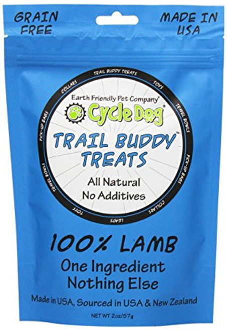Cycle Dog Trail Buddy Treats Lamb 2oz