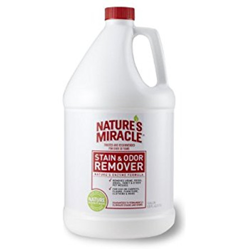Nature's Miracle Stain & Odor Remover Enzymatic Formula 1 Gallon