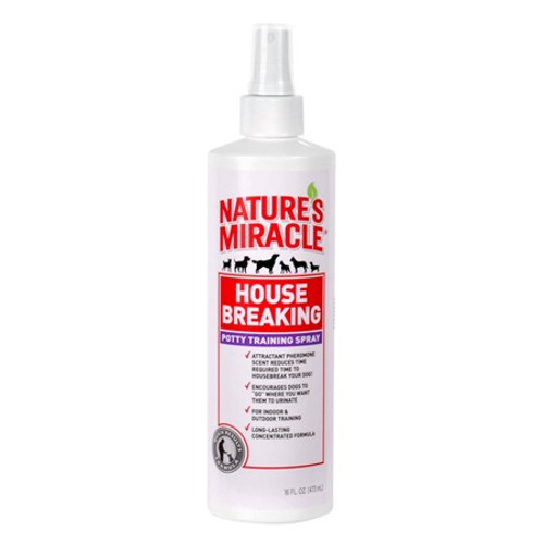 Nature's Miracle House Breaking Potty Training Spray 8oz