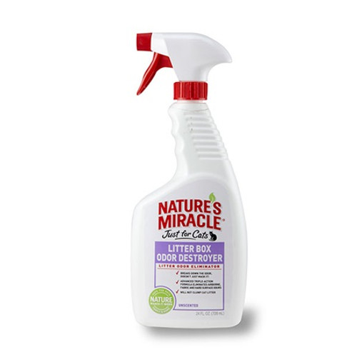 Nature's Miracle Just for Cats Litter Box Odor Destroyer 24oz