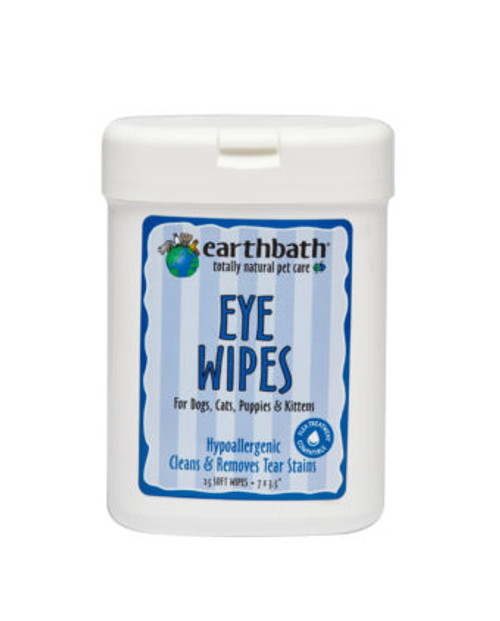 Earthbath Hypoallergenic Eye Wipes 25ct