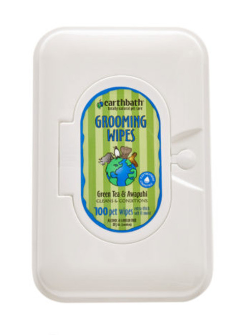 EB Green Tea Grooming Wipes 28ct