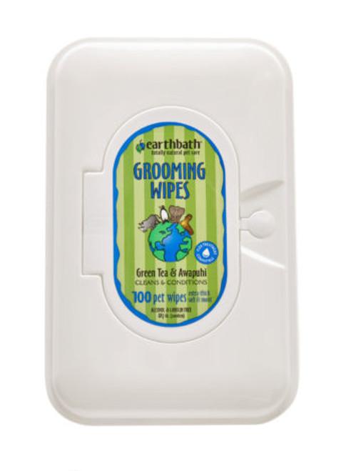 EB Green Tea Grooming Wipes 28ct