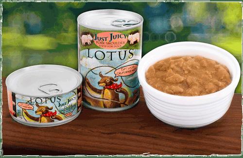 Lotus Dog Just Juicy Pork Shoulder 5.5oz