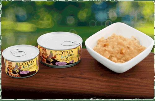 Lotus Cat Just Juicy Salmon & Pollock Stew 5.3oz