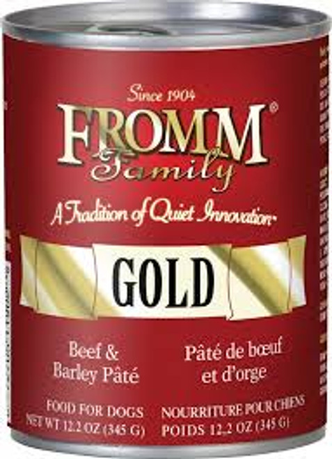 Fromm Gold Beef & Barley 12oz