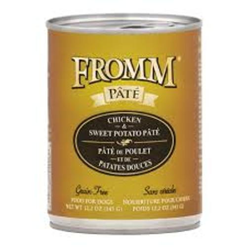 Fromm Grain Free Chicken & Sweet Potato Pate