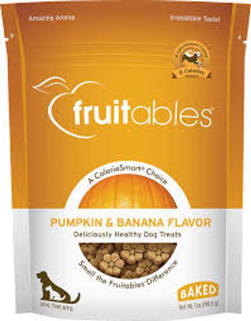 Fruitables Crunchy Oven Baked Pumpkin & Banana Treats 7oz