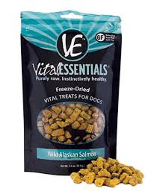 Vital Essentials FD Salmon Treats 2.5oz