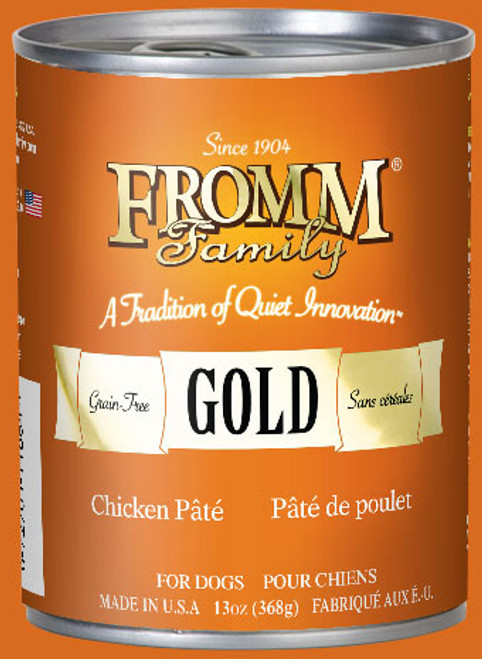 Fromm Gold Chicken Pate 12.2oz