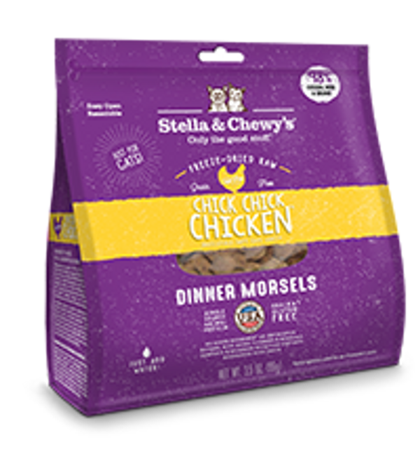 Stella & Chewy's Cat Freeze-Dried Dinner Morsels Chicken